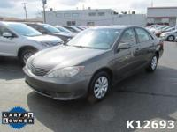Options:  2005 Toyota Camry Le|Miles: 59026Color:
