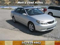 2005 Toyota Camry SE, This Car is in good condition and