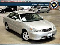 2005 TOYOTA Camry SEDAN 4 DOOR LE Our Location is: