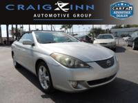 New Arrival! This 2005 Toyota Camry Solara SLE will