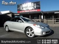 What a beautiful 2005 toyota solara convertible*very