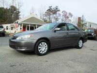 Nice Toyota Camry, fully serviced with a warranty. We
