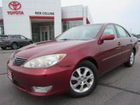 Hard to find V-6 Camry, one owner local trade!! This