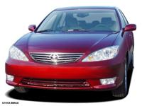 This 2005 Toyota Camry 4DR SDN LE V6 AUTO (GS) is a