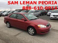 Options:  2005 Toyota Corolla  Clean Carfax And Rides