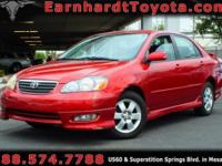 We are excited to offer you this 2005 Toyota Corolla