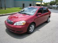 2005 Toyota Corolla LE.,Clean Carfax, , Non Smoker, Any