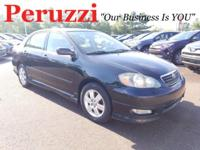CARFAX One-Owner. Clean CARFAX. Black 2005 Toyota