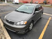 This 2005 Toyota Corolla S is proudly offered by Gurley