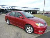 FUEL EFFICIENT 38 MPG Hwy/30 MPG City! CD Player, 4 cyl
