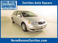2005 TOYOTA Corolla Sedan 4dr Sdn LE Auto Our Location