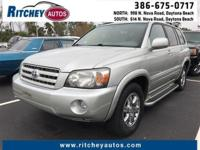 LOW MILEAGE 2005 TOYOTA HIGHLANDER BASE**CLEAN CAR