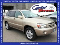 New Price! Clean CARFAX. This Highlander is in