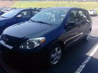 Recent Arrival! Black Sand Pearl 2005 Toyota Matrix XR