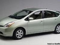 Make:  Toyota Model:  Prius Year:  2005