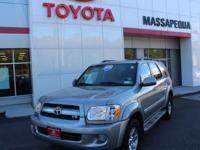 Gy 2005 Toyota Sequoia SR5 4WD 5-Speed Automatic with