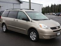 ONE OWNER MINIVAN 8 PASSENGER SEATING Low miles mean