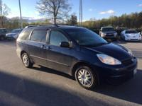 Black 2005 Toyota Sienna LE FWD 5-Speed Automatic with