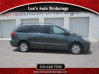 Options:  2005 Toyota Sienna Family Friendly Toyota