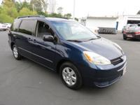 Exterior Color: blue mirage metallic, Body: Minivan,