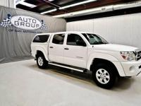 2005 TOYOTA TACOMA PRERUNNER: INCREDIBLY WHITE /