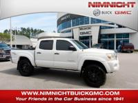 Dependable. PreRunner trim, Super White exterior and