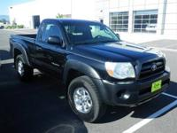 New In Stock!!! 4 Wheel Drive.. This Black 2005 Toyota