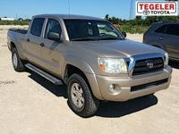 Tan 2005 Toyota Tacoma V6 4WD 5-Speed Automatic with