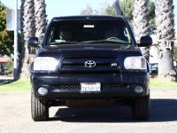 Options:  2005 Toyota Tundra Limited|Black|One Owner.
