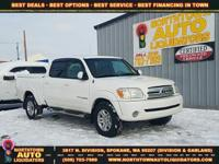 Options:  2005 Toyota Tundra Limited|White|Grey|171|482