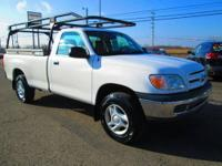 One owner! 2005 Toyota Tundra 4x4 regular cab long bed