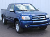Options:  2005 Toyota Tundra Sr5|Blue|Full Exterior &