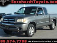 We are happy to offer you this 2005 Toyota Tundra SR5