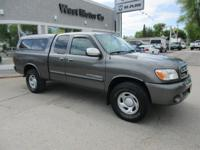Clean Title. 2005 Toyota Tundra SR5, camper shell, bed