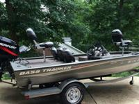 2005 Bass Tracker Pro Team 175 Special Edition boat.