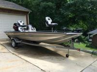 For Sale is an excellent condition 2005 Bass Tracker