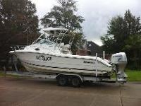 Well-maintained 2005 Triton 2690 in excellent condition