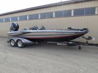 Triton TR 21 XD Bassmaster Package!!! This boat is