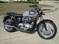 Thanks for looking into this truly cool Triumph T100
