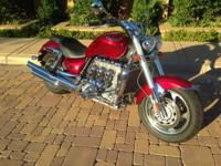 2005 Triumph Rocket 3 with just over 17000. Mileage