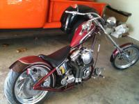 2005 ULTIMA CHOPPER. REVTECH 100 ENGINE. TOO MANY