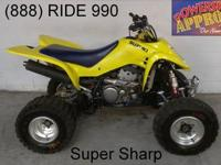 2005 used Yamaha Raptor 660 ATV with less than 70