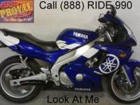 2005 used Yamaha YZF600R crotch rocket for sale - only