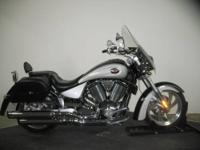 Beautiful Black & Silver 2005 Victory Kingpin in