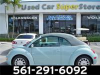 2005 VOLKSWAGEN Beetle CONVERTIBLE GLS Our Location is: