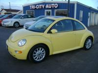 2005 VW BEETLE GLS 2.0 4CYL! AUTO! ONE OWNER! ONLY