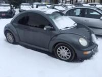 This clean little Beetle looks and drives great. With