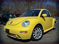 This Sunflower Yellow Volkswagen New Beetle diesel is a