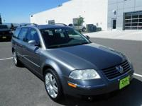 New In Stock... This Gray 2005 Volkswagen Passat is