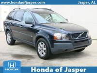 Options:  2005 Volvo Xc90 4Dr 2.5L Turbo|Front Wheel